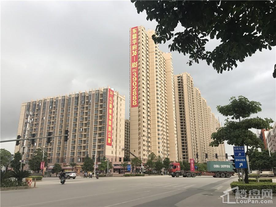 华南城东盟华府实景图(摄于10.8))