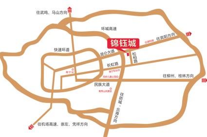 锦钰城位置图
