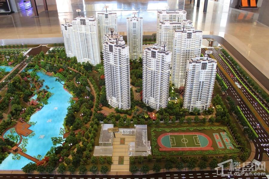 光明城市楼栋沙盘图(2017-10-10)