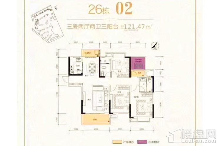 26#02户型