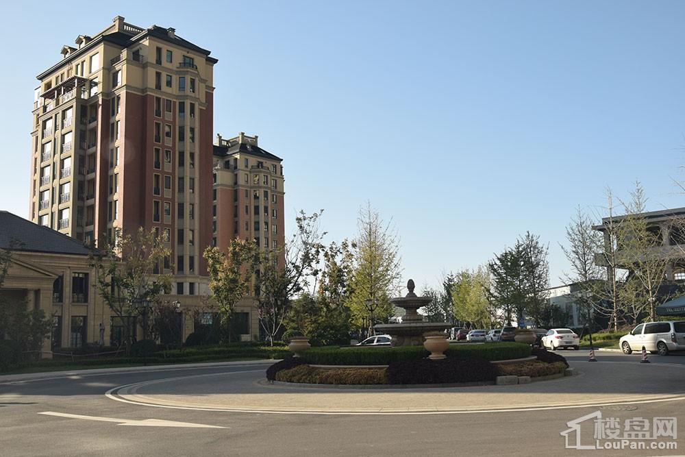 淄博绿城·百合花园紫薇园实景图