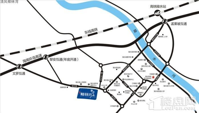 清凤椰林湾位置图