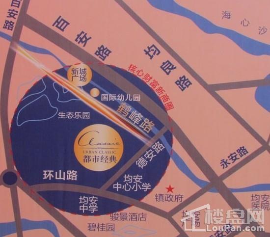 都市经典位置图