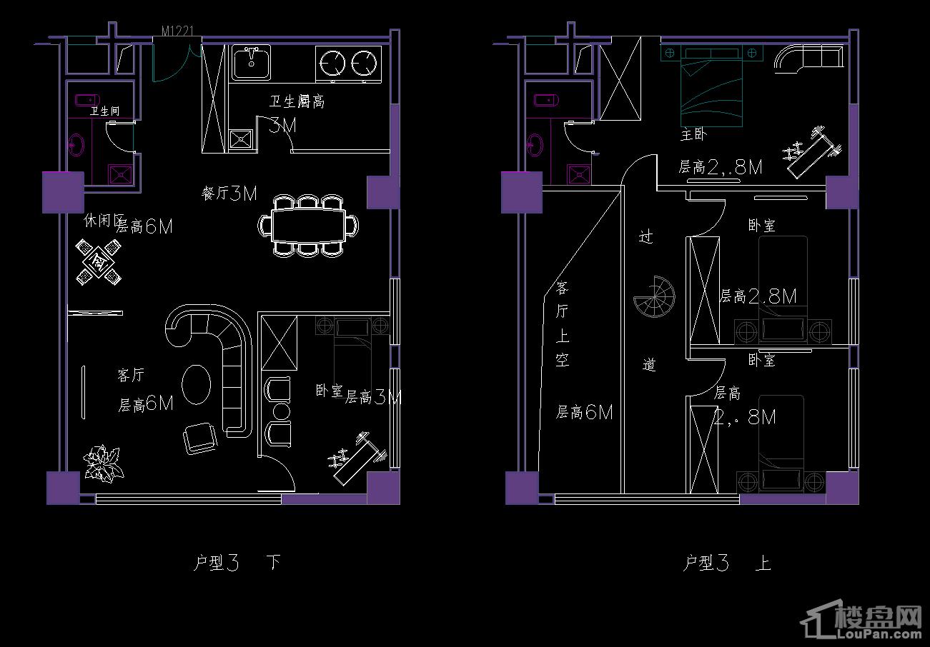 恒利大厦户型图