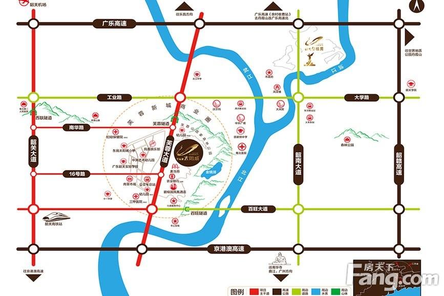 碧桂园太阳城位置图