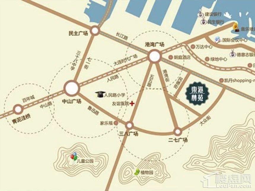东港林苑位置图