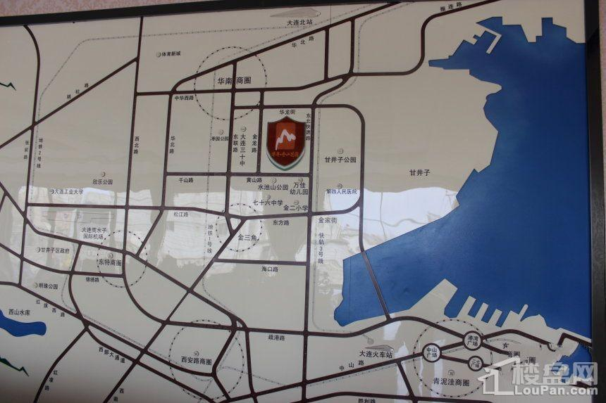 华丰金山花园位置图