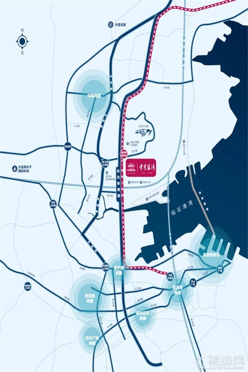 中国铁建 青秀蓝湾位置图