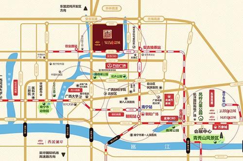 中国铁建安吉山语城位置图