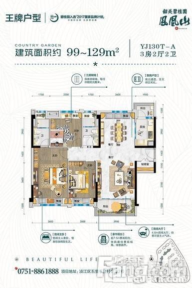 韶关碧桂园YJ130T-A