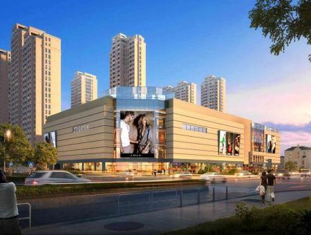 华都天元广场-商业街区
