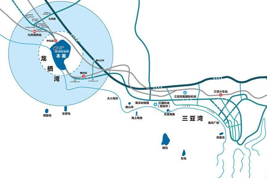 龙栖湾·波波利海岸位置图