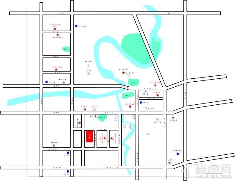 宝庆府邸·馨园位置图