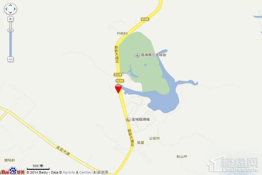 金地香山湖位置图