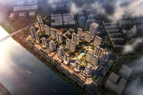 江与城效果图