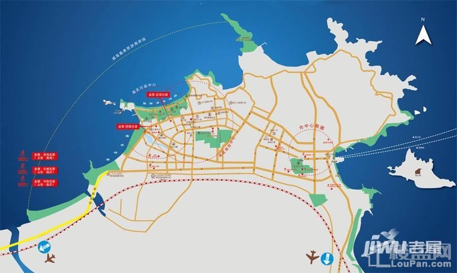 金猴圣海名居位置图