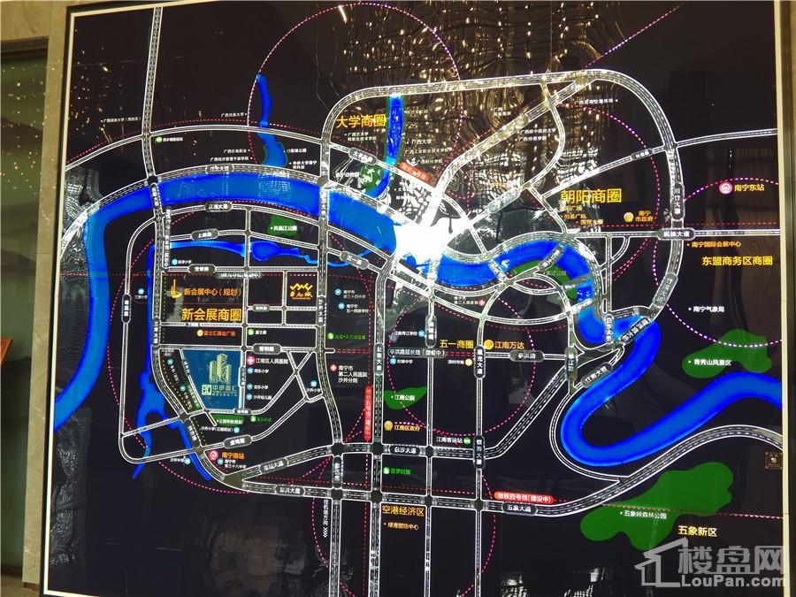 中昂国汇区位图
