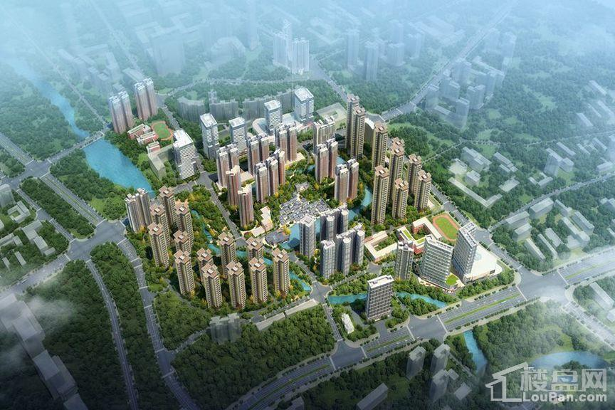 万科城市之光效果图