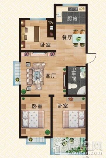 上河小镇·尚书院户型图