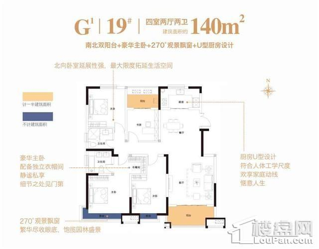 19#G1户型