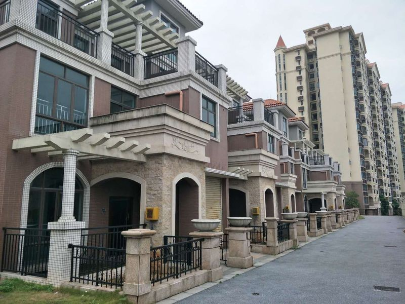 雍翠新城实景图
