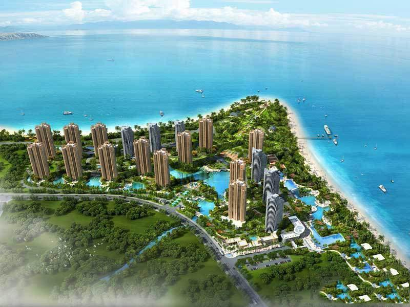 旅游地产长岛蓝湾高清图