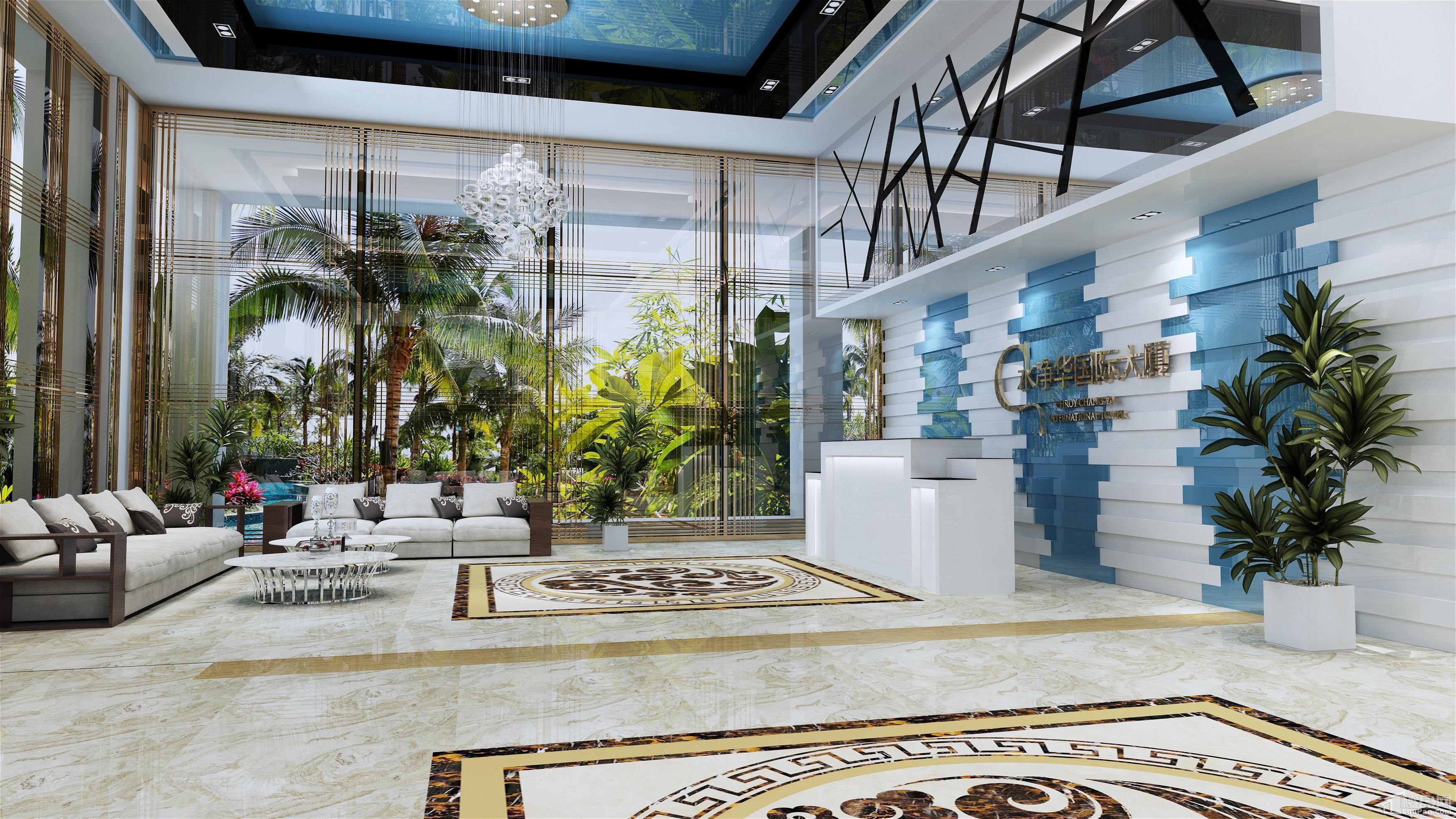 水净华国际大厦实景图