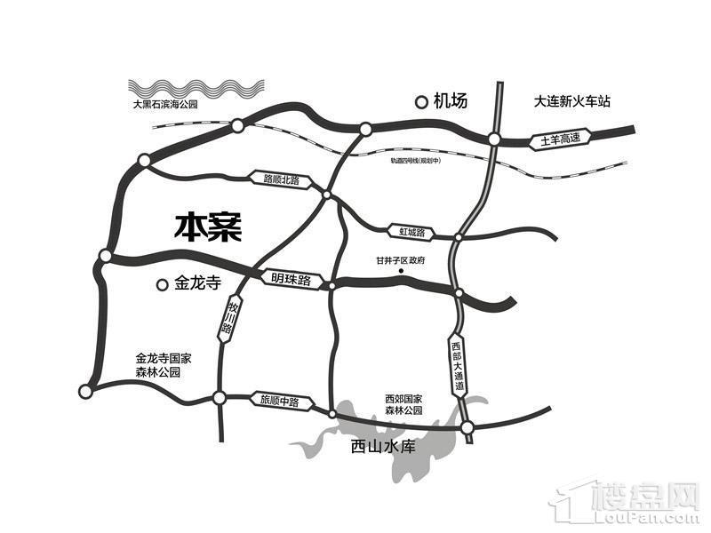 泰达慧谷位置图