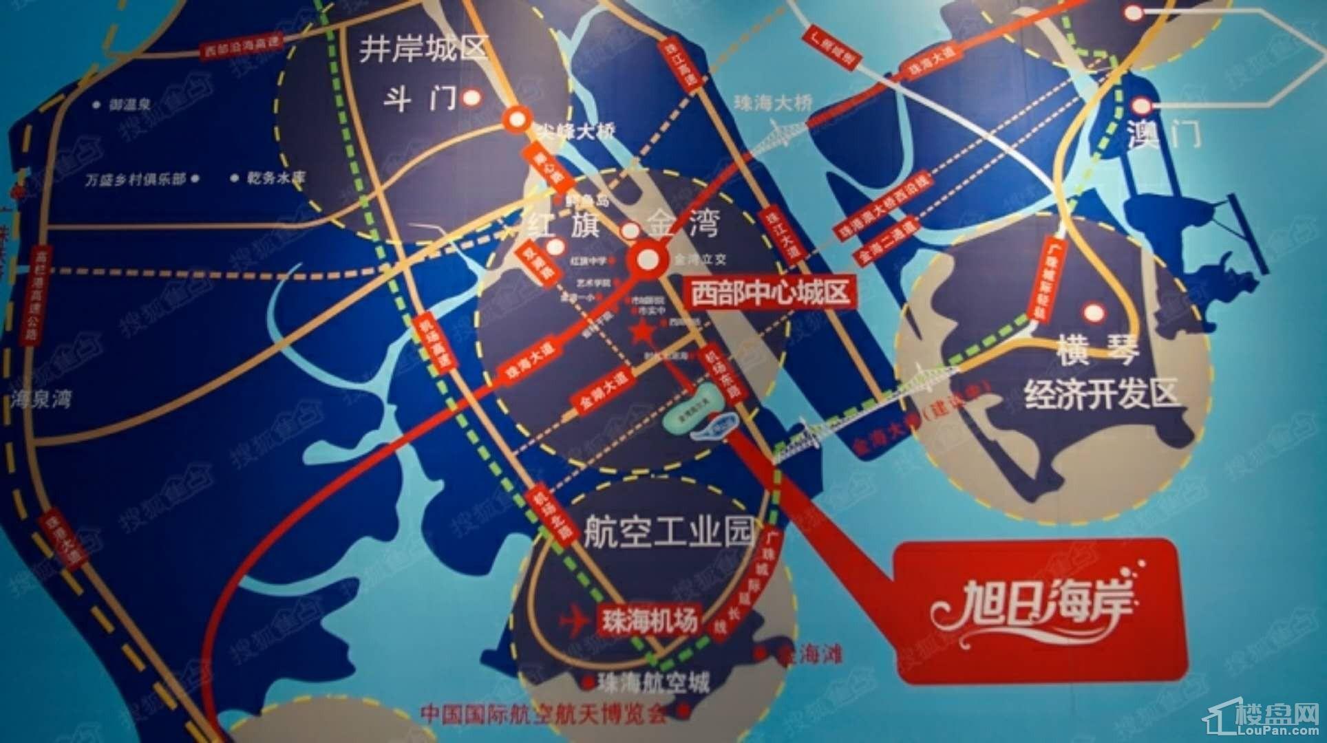 旭日海岸位置图