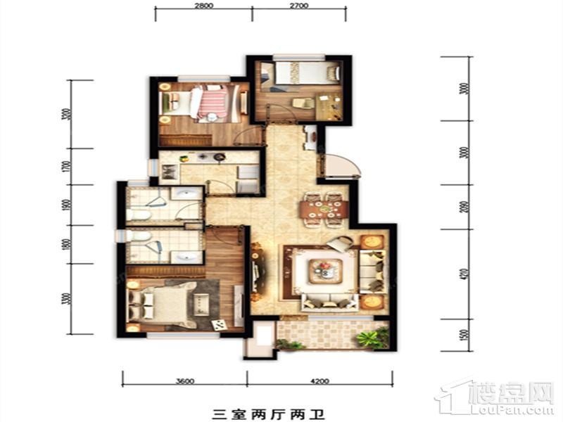 中国铁建山语城户型图