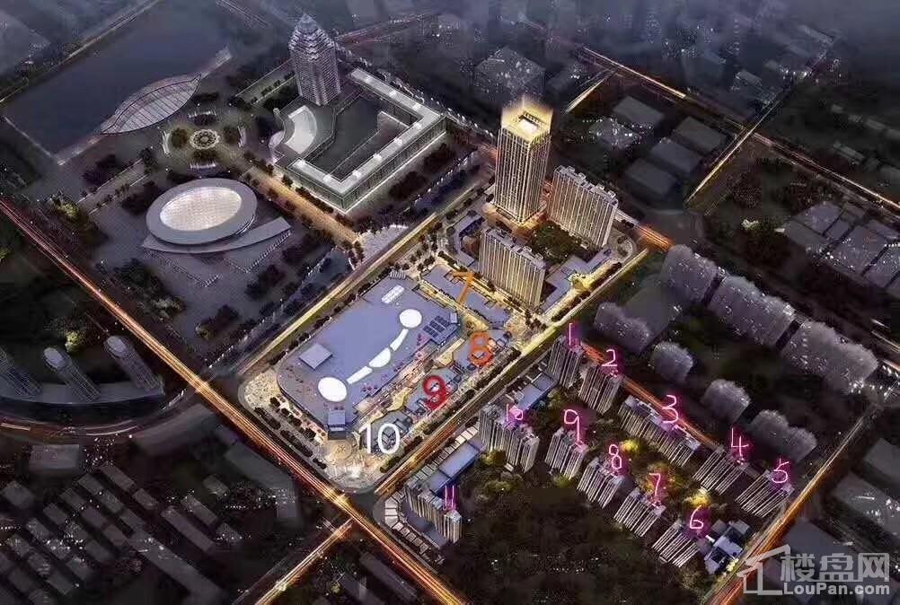 台州星光耀广场商铺效果图