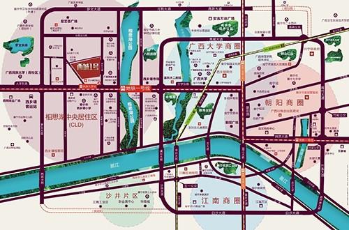 西城1号位置图