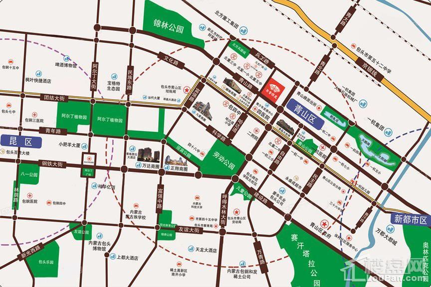 书香雅苑位置图