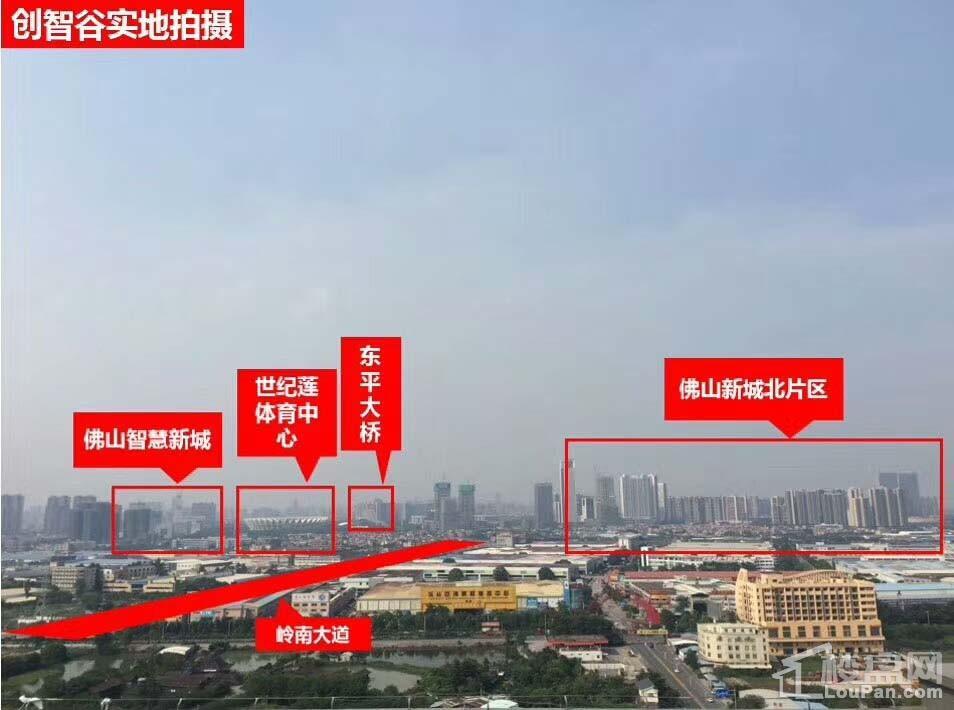物联创智谷实景图