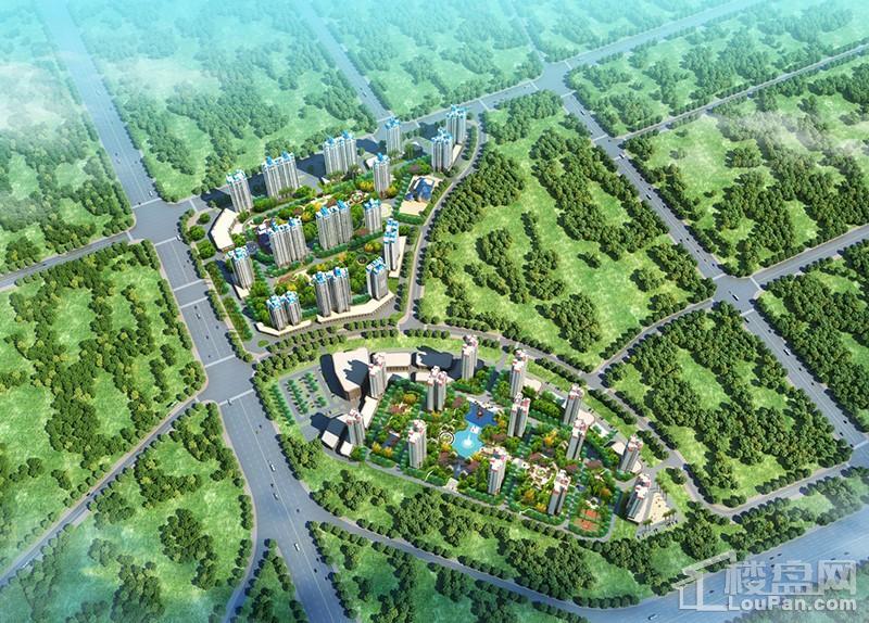 柳州恒大城效果图