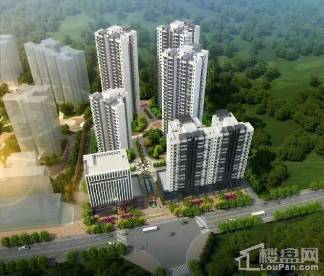 华恒首府项目鸟瞰图