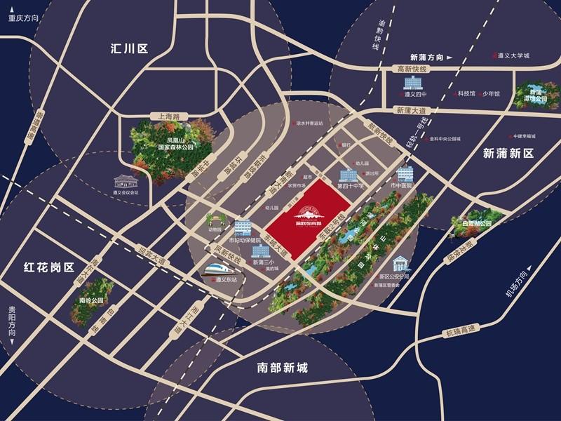 渝欧教育城位置图