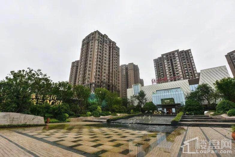 绿地城实景图