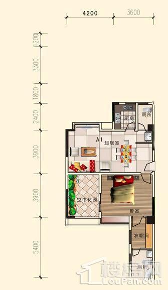 1、2栋32层A1户型