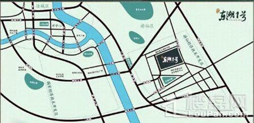 凯越东湖1号位置区域图