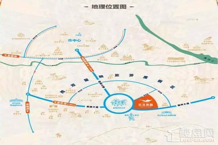 玖沐雨林位置图