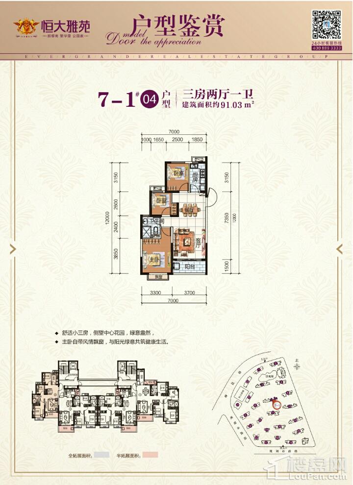 7-1#04户型