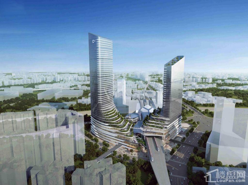 中信泰富·凯达尔枢纽国际广场效果图
