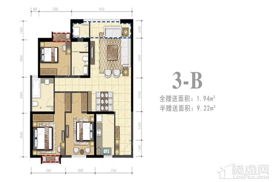 3-B户型(住宅)