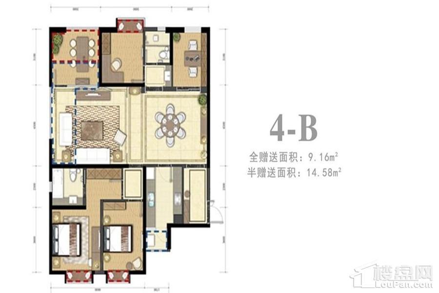 4-B户型(住宅)