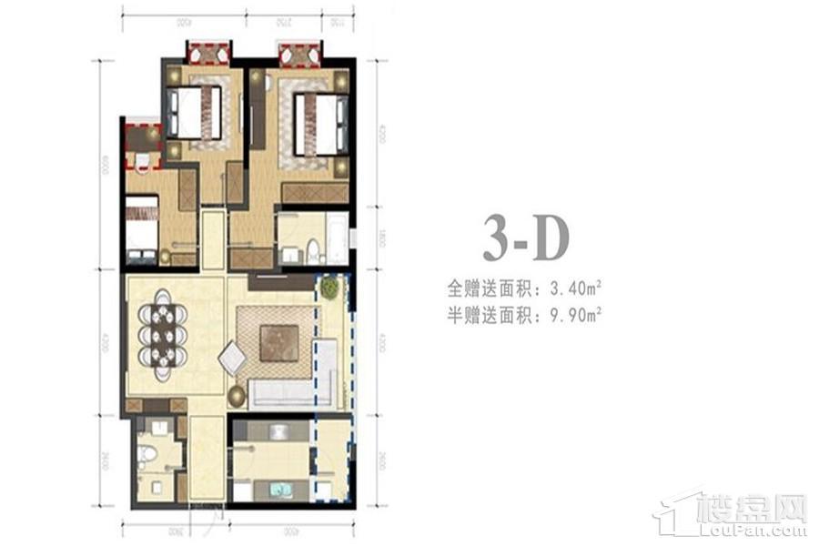 3-D户型(住宅)
