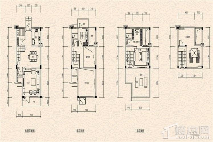 八期别墅B2户型