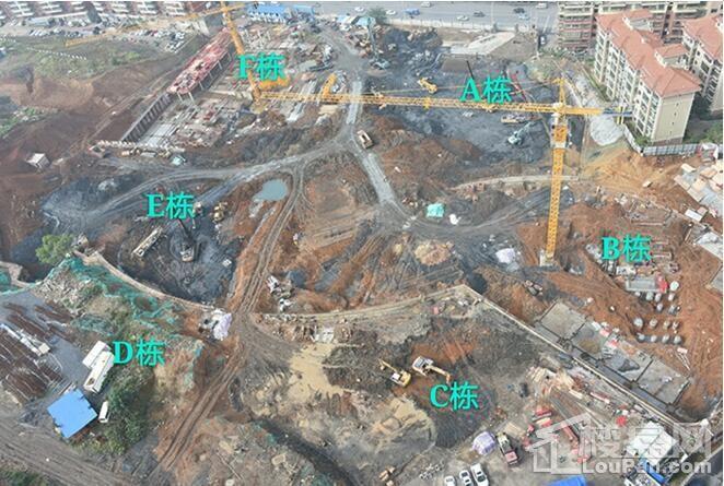 紫宸澜山二期11月份工程进度