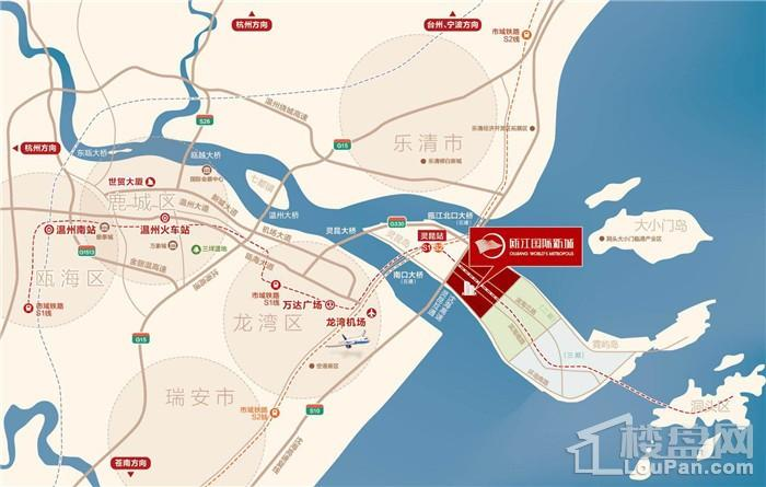 瓯江国际新城位置图
