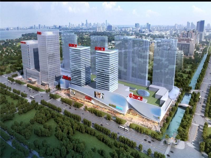 苏州吴中万达广场效果图